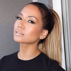 Bronzed make up, Jlo glow, perfect highlight and contour, nude lips, bronze eyes…