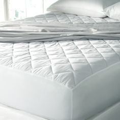 Spa Luxe Cool Touch Moisture Wicking Mattress Pad - Overstock Shopping - Great Deals on Mattress Pads