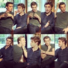 Max Irons and Jake Abel
