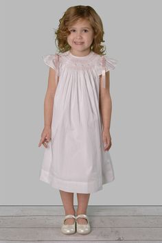5bb48d7b7 Lilly handmade birthday dress, bishop dress white and pink – Savannah Children  Toddler Girl Dresses