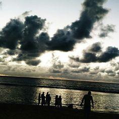 Nascer do sol na praia de Boa Viagem!