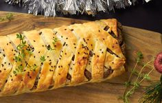 This delicious Pecan and Mushroom Wellington is a gorgeous dinner treat for anytime of the year. The crispiness of the pastry is so tantalisingly tasty!