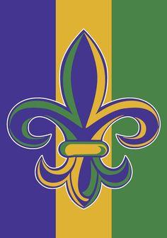 Mardi Gras fleur de lis Mardi Gras Flag, Mardi Gras Beads, Mardi Gras Party, Cute Summer Wallpapers, Cute Wallpapers, Louisiana Art, Louisiana Creole, Madi Gras, Flag Store