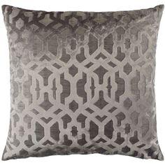 """Monaco Pillow 24"""" (1,480 MXN) via Polyvore featuring home, home decor and throw pillows"""