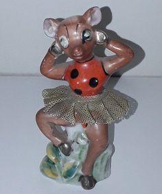 Vintage Japan Deer Figurine Tulle Skirt | Collectibles, Animals, Farm & Countryside | eBay!