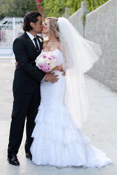 Julie Benz's glamorous Hollywood wedding (Photo: Christine Chang)