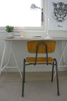 Kodin1, Elämäni koti, Vierasblogi Moderni puutalo, Kolmasluokkalaisen huoneen uudistus #elamanikoti