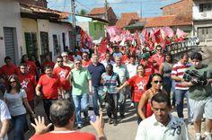 """Caminhada da coligação """"Juntos por São Luís"""" movimenta bairro da Liberdade"""