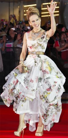 Sarah Jessica Parker's 50 Most Memorable Looks Ever - Vivienne Westwood, 2010 from InStyle.com