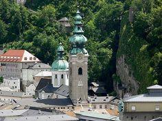 Abadia de São Pedro, em Salzburg, Áustria, tem a mais antiga pousada e restaurante em operação no mundo