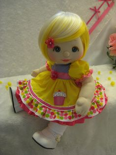 OOAK My Child Doll Cupcake Cutie by jesska80, via Flickr
