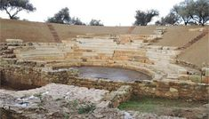 Aptera, Chania, Crete, the Ancient Theater. Στα Χανιά το μοναδικό αναστηλωμένο αρχαίο θέατρο της Κρήτης