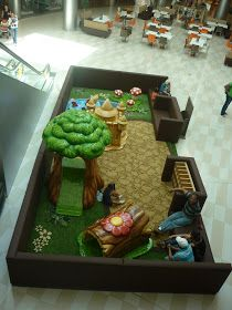 Retail Shopping Center Play Area for Children