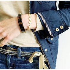 A closer look  at the velvet and beaded sash belt from @jcrew  #aotd #howtojcrew