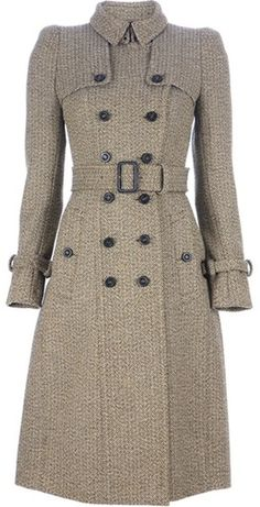 Burberry weed --I wore a coat like this in college and it still resides along with the matching bell bottoms in my ATTIC...want to borrow it ???
