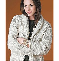 Ravelry: Autumn Afternoons Cardigan #50924AD pattern by Lion Brand Yarn