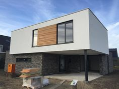 Timber Panelling, Minimalist Home, Cladding, Facade, My House, Architecture Design, House Plans, New Homes, House Styles