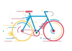 Bicycles: Illustration Series by Daniel González