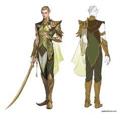 ArtStation - wood elf man, seo hee(angpho)