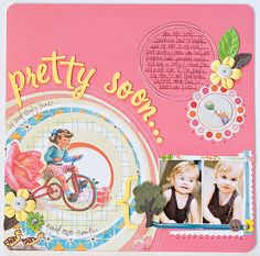 """Love the """"Pretty Soon"""" part...any way to do that without a Cricut?   cute as can be by maggie holmes"""