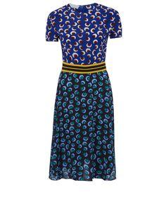 Stella McCartney Multicolour Petra Floral Print Silk Dress