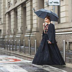 Larisa Costea - - Milan Fashion Week FW 16-17 Day 5