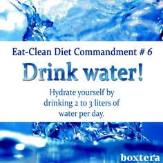 Hydrate for health!