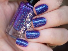 Nail polish Open Season sky blue and turquoise by EmilydeMolly