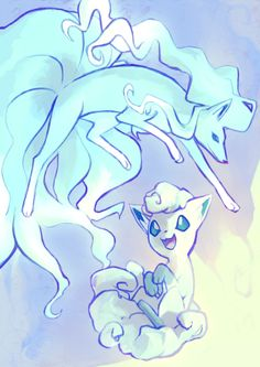 Vulpix and Ninetails