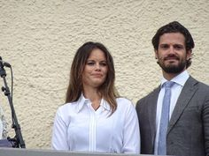 Swedish royals visit to Varmland, Sweden - 26 Aug 2015 Prince Carl Philip and Princess Sofia of Sweden