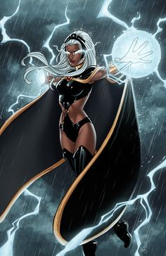 Lightning Storm by JamieFayXB :iconwitchysaint: put down some amazing color for my storm picture! everything she does is just gorgeous!! this will be a print i'll be having at cons from now on. thanks, danielle. she turned out lovely! just like i knew she would!! ines/inks by me :iconwindriderx23: colors by :iconwitchysaint: storm © marvel comics Cartoons & Comics / Digital Media / Comics / Other