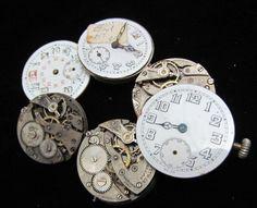 Vintage Antique Watch Pocket Watch by amystevensoriginals on Etsy