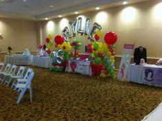 Birthday Balloon display #ChateauEvents