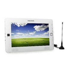 MOBILER CAR HIFI TV MINI LCD MONITOR DVB-T EMPFÄNGER MPEG4 MP3 USB SD PORT AKKU; EEK A+sparen25.com , sparen25.de , sparen25.info
