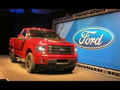 EXCLUSIVE! First Real Life Look At The 2014 Ford F-150 Tremor-Will It ROCK GM and Ram? - YouTube