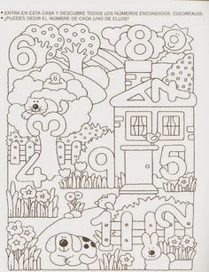 Crafts,Actvities and Worksheets for Preschool,Toddler and Kindergarten.Free printables and activity pages for free.Lots of worksheets and coloring pages. Numbers Preschool, Math Numbers, Preschool Worksheets, Preschool Learning, Kindergarten Math, Teaching Math, Preschool Activities, Writing Numbers, Number Worksheets