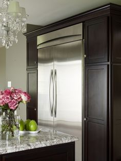 big fridge #kitchen #appliance