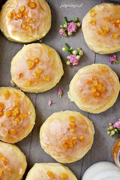 Pączki pieczone - Justyna Dragan Cookies, Fruit, Recipes, Food, Crack Crackers, Biscuits, Recipies, Essen, Meals