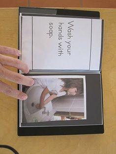 little lesson books - love this idea!