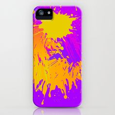 Splashs II iPhone & iPod Case by Rain Carnival - $35.00 #iphone #samsung #mobile #case #skin #splash #colorful #summer
