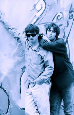 Gene Gallagher, Lennon Gallagher, Liam Gallagher Oasis, Great Bands, Cool Bands, Liam And Noel, Indie Boy, Best Rock Bands, Wonderwall