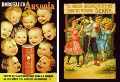 Polvos de talco Ausonia y Reconstituyente de enofosforina Serra