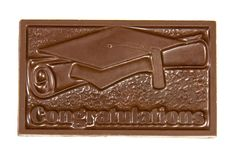 Congratulations Chocolate Bar. Available in milk, dark and white chocolate.
