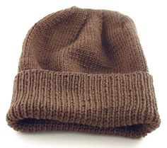 Free Knitting Pattern: Easy-to-Knit Hat (Suitable For Soldiers/Troops deployed to cold climates)