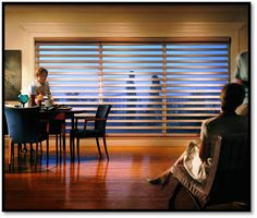 Pirouettes designed with soft, horizontal fabric vanes attached to a single sheer backing, Hunter Douglas Pirouette window shadings control light in an entirely new way. Visit our beautiful showroom today! #homedecor #windowblinds #edmonton #alberta #edmontonshop
