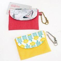 少しの布で簡単に手作り!プリント生地がかわいいIC用のパスケースの作り方(布小物) | ぬくもり