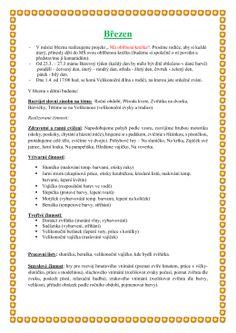 Březen Preschool, How To Plan, Education, Beer, Kid Garden, Kindergarten, Onderwijs, Learning, Preschools