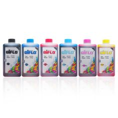 Paket Hemat Tinta Aiflo 1 Liter Untuk Printer Epson (1 set 6 Botol) - http://connexindo.com/paket-hemat-tinta-aiflo-1-liter-untuk-printer-epson-1-set-6-botol.html