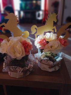 Unicorn Centerpiece. 6th Birthday Rainbow Unicorn Party, Unicorn Birthday Parties, Birthday Fun, First Birthday Parties, Birthday Party Themes, First Birthdays, Birthday Ideas, Unicorn Centerpiece, Pastel Party