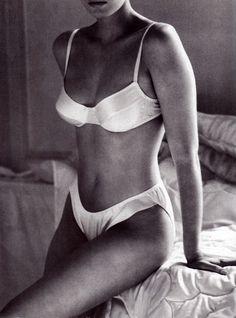 Calvin Klein Underwear, American Vogue, August 1988.